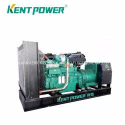 부동산이 1000kVA 디젤 엔진 발전기 열리는 유형 Wudong 전기 Genset를 이용했다