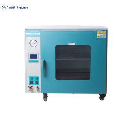 Estufa de secagem a vácuo para processamento de materiais químicos