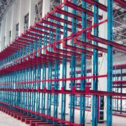 Промышленные складские системы хранения данных для тяжелого режима работы селекторного подвижной колонны стеллажи