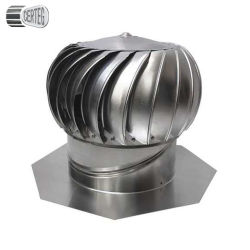 Aço inoxidável ventilador de ar da turbina acionada do vento