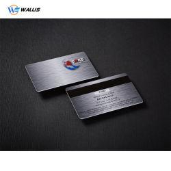 Prägecode Hochglanz Offsetdruck Standardgröße Cr80 Druckbar Magnetisch Bankkarten aus Polycarbonat-PVC mit Streifen