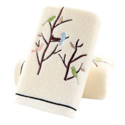 Embalaje de regalo gimnasio deporte blanco algodón Toallas de cara