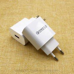 Heißer Verkaufs-weiße Farbe EU wir BRITISCHER Au-Typ einzelner Portenergien-Adapter für iPhone Android-Telefone