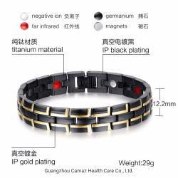 Acero Inoxidable 316L mayorista pulseras magnéticas Bioenergía pulseras saludable