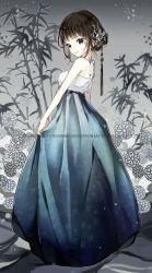 Charmante jeune fille de peintures Peinture de diamant de bricolage de cadrage de l'image