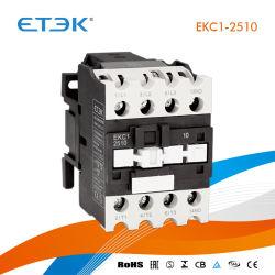 IntertekのセリウムのCBが付いているEkc1-2508 4p 25A 240VACの接触器