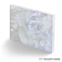 Von hinten beleuchteter künstlicher Onyx-Stein polierte Ende