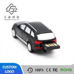 De Stok van de Gift USB van de Aandrijving van de Flits van het Embleem USB van de Douane van de Aandrijving van de Vorm van de auto