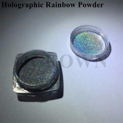 Polvere olografica del chiodo del laser di scintillio del Rainbow del bicromato di potassio d'argento del pigmento