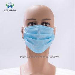 Оптовая торговля 3 одноразовые Ply не тканого маску для лица ткань хирургических маску для лица