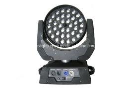36*18W Rgbwavu 6en1 Multi Couleur LED DMX Déplacement de l'étape phare de lumière