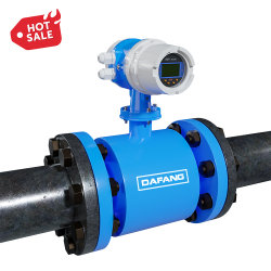 Dn10-1000мм Фланец трубопроводов типа цифровой жидкость механической очистки сточных вод электромагнитные расходомер