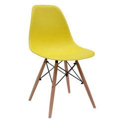 다채로운 플라스틱 옥외 식사 의자 현대 가구 대중음식점 의자