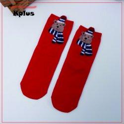 Décoration de Noël en tricot Chaussettes chaudes d'hiver 100 Fuzzy anti-patinage d'une épaisseur de Noël de l'hiver confortable Chaussettes floue