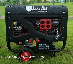 15HP 7,5 kVA générateur à essence en mode silencieux (semi-fermé silencieux, démarrage électrique)