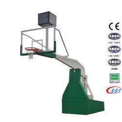 Base Hidráulica de Interior del Soporte del Baloncesto del Aro de Baloncesto del Equipo de Deportes Profesionales