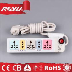 Высокое качество портативный 220V Всеобщей складной электрической мощности полосы