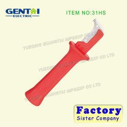 31HS el cable pelado la cuchilla con tapa protectora transparente