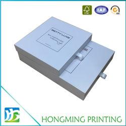 El lujo de cartón de papel personalizado con cajón Caja de regalo cosmética