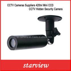 Les caméras de vidéosurveillance fournisseurs 420TVL Mini caméra de sécurité CCTV CCD cachés
