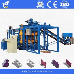 Qt4-18 automatique machine à fabriquer des blocs de béton de ciment creux, machine à briques Paving Stone largement utilisé en machinerie de construction