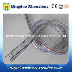Linea di produzione d'espulsione di rinforzo a spirale di plastica del tubo del filo di acciaio del PVC di alta qualità