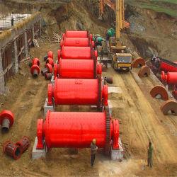 Industria Minera de grandes equipos de molienda Molino de bolas