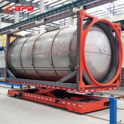 Bobinas de acero Transportatin transporte en ferrocarril para planta de fundición (KPX-50T)