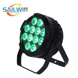 Довольно алюминиевая LED PAR лампа освещения сцены