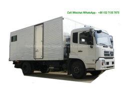 van Vrachtwagen van de Workshop van de Weg de Mobiele Dongfeng Kingrun 4X4 (Awd Mobiel Op een voertuig gemonteerd Onderhoud met de Hulpmiddelen van het Onderhoud LHD, RHD)