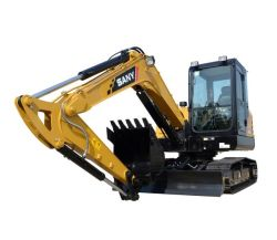 Sany Sy60cの掘削機6トン掘る機械地球移動装置