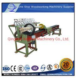 自動Bamboo Stick Making Machine Wooden Ice Cream Stick Production Line Wood Rotary Cutting Machine (Bamboo WoodからのL520) Incense Stick Making Machine