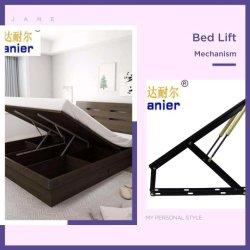 Black 1.2 cama Murphy Fácil Pneumática Elevação cama dobrável montagem