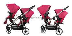 Repliage double Infant Toddler poussette poussette double tandem