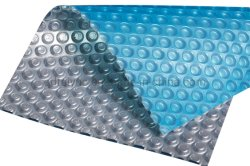 Bulle de polyéthylène de gros de natation piscine couvercle solaire à bulles