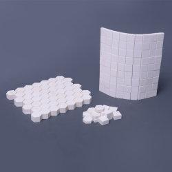 Tonerde-keramische Abnützung-Ebenen-Futter-Fliese/Matte für die Beförderung der Rohre mit Korrosionsbeständigkeit