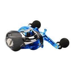 Sistema de freno magnético de la rueda de goteo de carrete de pesca atractivo el tambor