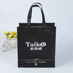 Sacchetto del regalo, sacchetto di Tote, sacchetto di acquisto, sacchetto promozionale dei pp, marca poco costosa all'ingrosso della maniglia del panno di Eco che cuce sacchetto non tessuto