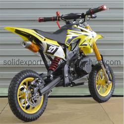 Comercio al por mayor de 49cc alta configurado Mini Dirt Bike Motor Gas precio más barato