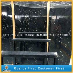Chinese New Black Ice fleur pour les carreaux de marbre, de plans de travail, plateaux de table