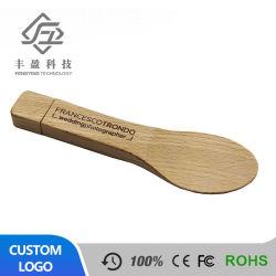 Alta Qualidade Design Personalizado USB Madeira 2GB Wood Unidade Flash USB de 8 GB com logotipo da impressão