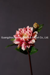 Vente chaude Fleur de pivoine artificielle de vase et décoration de mariage
