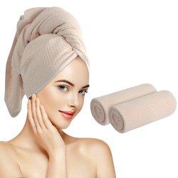 Microfibra absorvente Super Secagem Rápida finalização de cabelo do lado da face de Magic Toalha de secagem para Hotel Piscina Desportivos