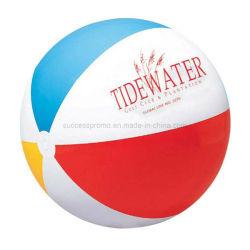 La taille de ballon de plage gonflable personnalisé avec logo de l'impression