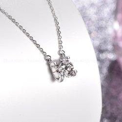 卸し売りネックレスの工場 925 の銀製の方法宝石類の付属品