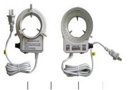 White brandnew Illuminated Microscope Ajustable Ring Light Stereo Microscope 60 LED Ring Lamp con Adapter 220V o 110V