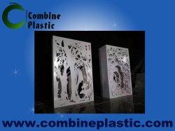 O PVC elegante decoração Escultura