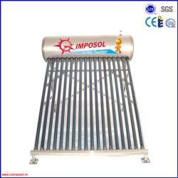 druckloser Solarwarmwasserbereiter des kompakten Edelstahl-200L