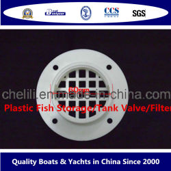 Barco de peces marinos Parts-Plastic Válvula del tanque de almacenamiento/filtro/