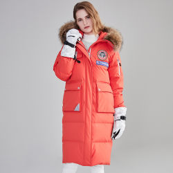 La mujer chaquetas de invierno hacia abajo el desgaste de la Oficina de estilo de moda las prendas de vestir de invierno
